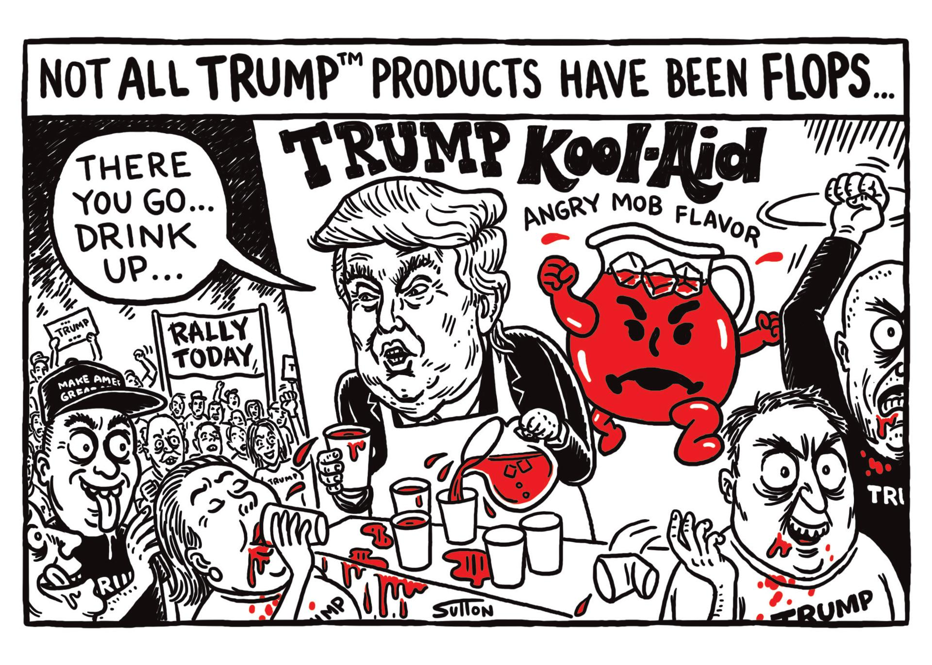 Kraft Foods Denies Rumor Kool Aid Brand Set to Endorse Trump